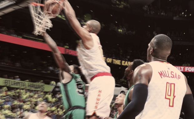Paul Millsap Hawks Celtics
