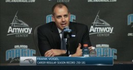 """Frank Vogel: """"Vamos a entrar en playoffs"""""""