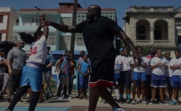 Shaquille O'Neal en La Habana