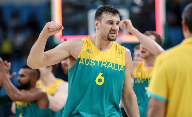 Andrew Bogut Juegos Río 2016 Australia