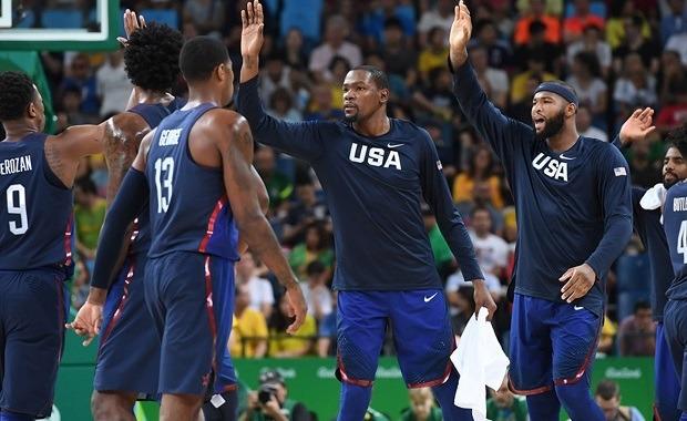 Kevin Durant y Team USA