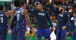 Río 2016, día 1: Durant se luce en el primer paseo de EE.UU.