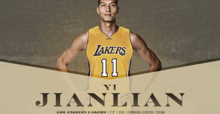Yi Jianlian pide su salida de los Lakers y será cortado
