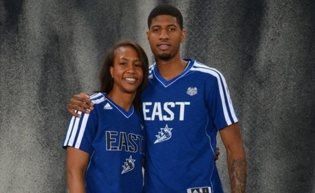 Tamika Catchings y Paul George