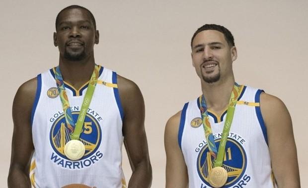Klay Thompson y Kevin Durant