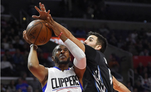 Chris Paul y Ricky Rubio