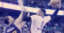 Abultado triple-doble de Russell Westbrook
