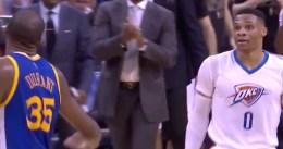 Los momentos más tensos del retorno de Kevin Durant a Oklahoma