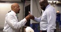La 'reacción' de Shaquille O'Neal al ser superado por LeBron