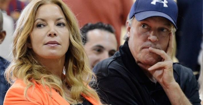 Jeanie Buss aparta a Jim de la propiedad de los Lakers