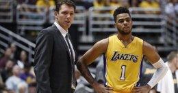 """Magic Johnson hace de menos a Russell: """"Necesitaba un líder"""""""