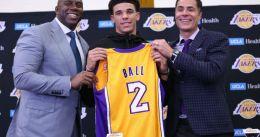 Lonzo no ve descabellado que sus hermanos también jueguen en los Lakers
