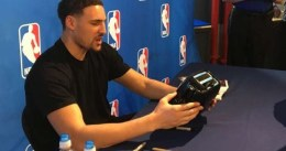 Una tostadora lleva a un fan a celebrar el anillo con los Warriors