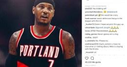 Rumor: ¿Carmelo dispuesto a no decir que no a Portland?