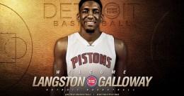 Langston Galloway actuará como base anotador