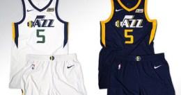 Utah Jazz presenta sus nuevos uniformes