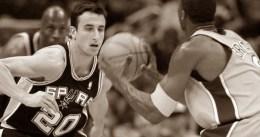 Hace 15 años que debutó Manu Ginóbili en la NBA