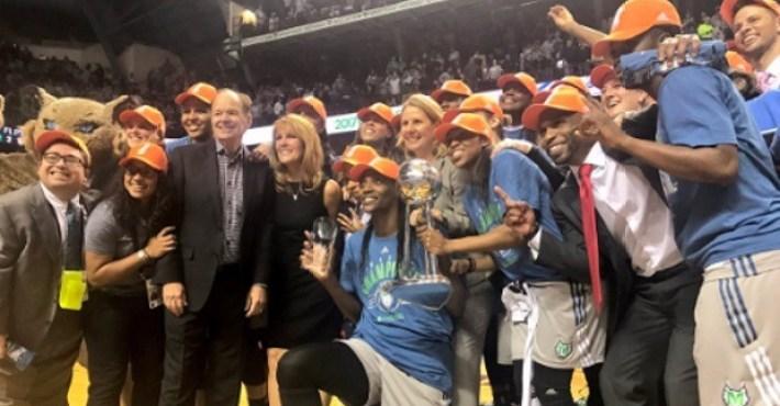 Las Minnesota Lynx, campeonas de la WNBA