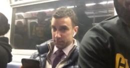 """El enfado del hombre del metro de NY con LeBron: """"Es gilipollas"""""""