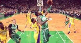 La décima victoria seguida de Boston llegó ante los Lakers