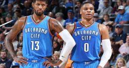 Los Thunder no echan de menos a Carmelo en el cumpleaños de Russ
