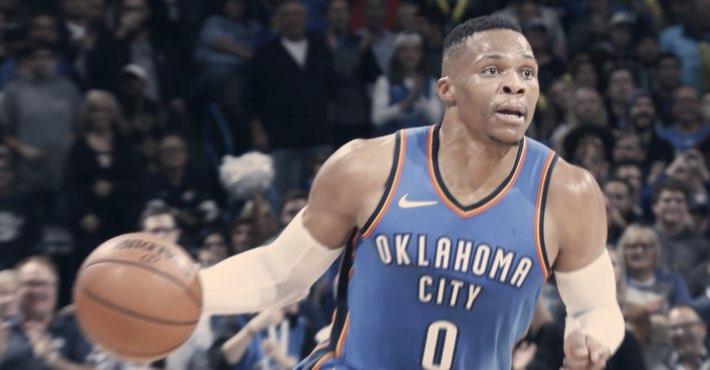 Westbrook registra su 13º triple-doble de la temporada