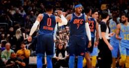 Serio correctivo de Oklahoma City a los Lakers