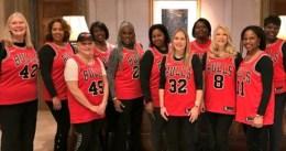 Las madres de los jugadores de Chicago y su especial viaje a NY con el equipo