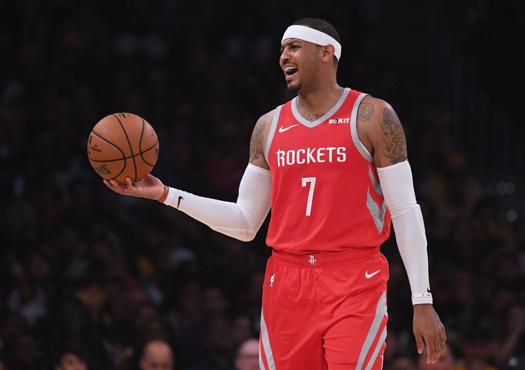 Reporte: Houston Rockets envía a Carmelo Anthony a Chicago Bulls