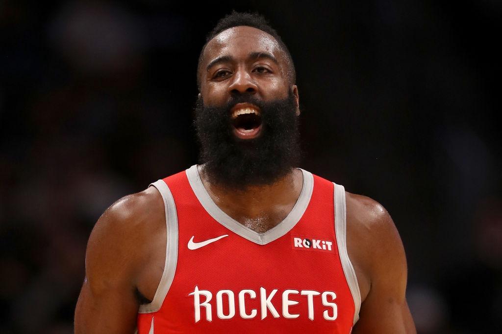 James Harden destruyó a Stephen Curry en el duelo de figuras — NBA