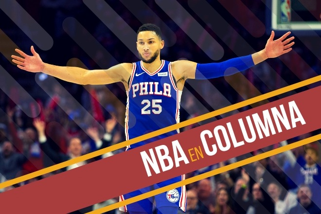 145-123. Simmons aporta triple-doble y Sixers empatan serie ante Nets