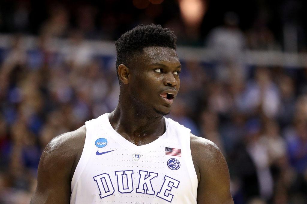 Draft 2019 NBA. Zion Williamson, de Duke.