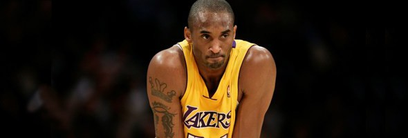 Kobe Bryant ya ha disputado 1094 con los Lakers