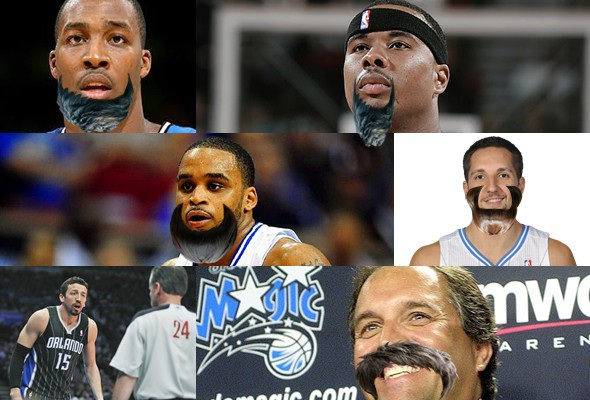 Orlando Magic, con barba