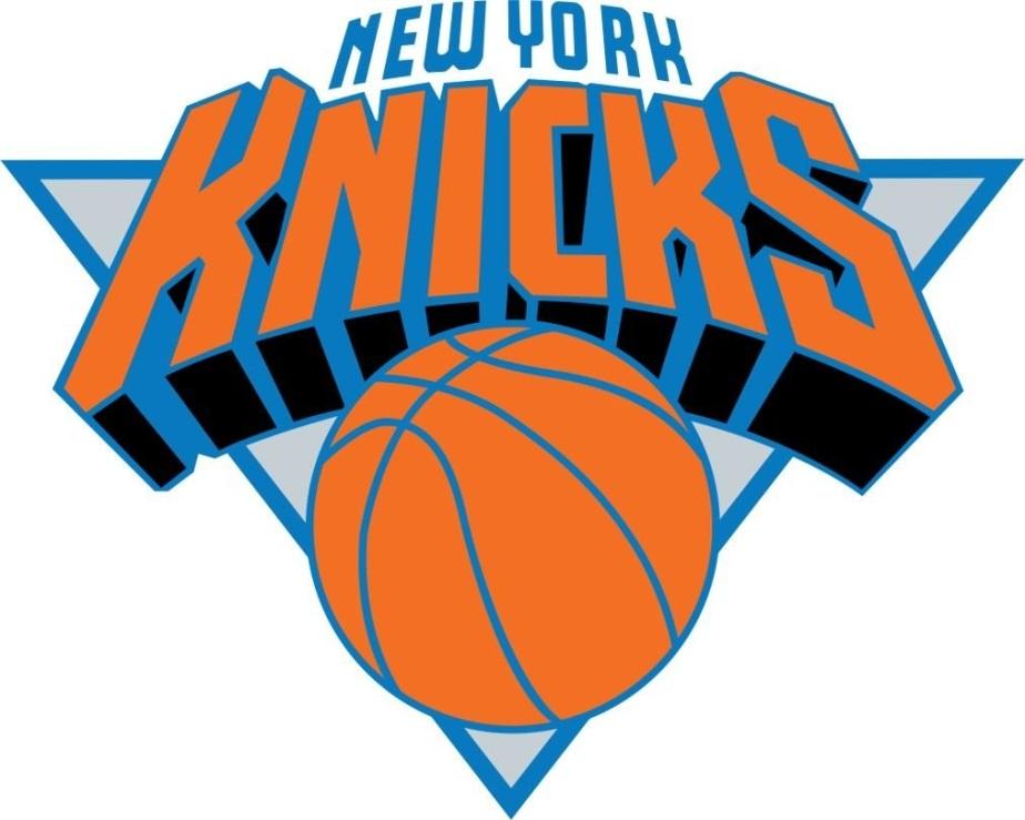 present logo of the new york knicks