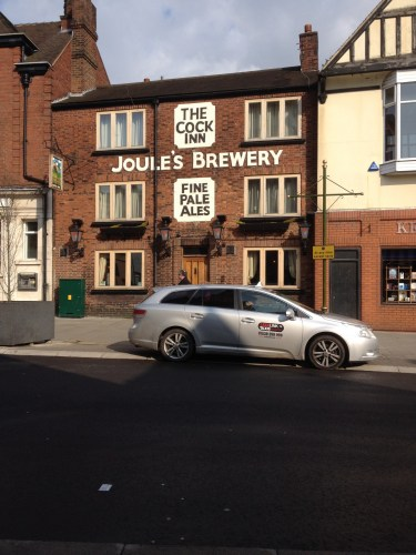 Old public house still showing the Joules brewery sign