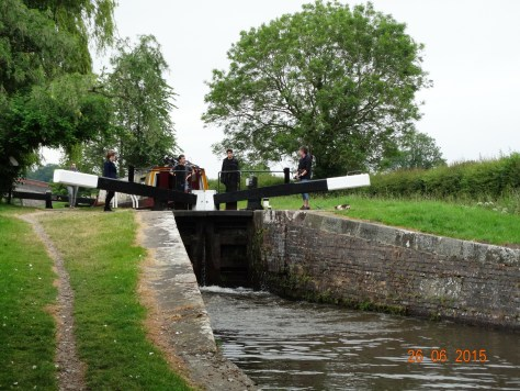 New Marton locks