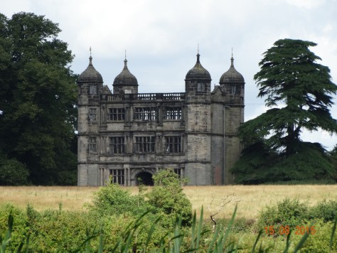 Tixall gatehouse. All that remains of a once great hall where Mary Queen of Scots was imprisoned in 1586.