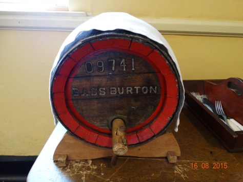The servants were given a gallon of beer a day as part of their wages; there was a brewery on the estate for this purpose