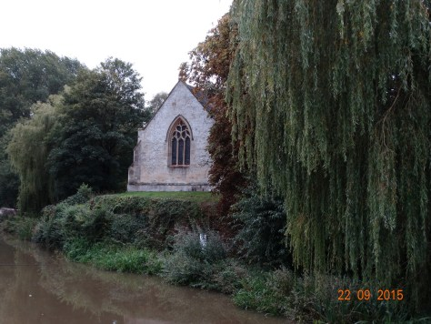 Shipton on Cherwell church