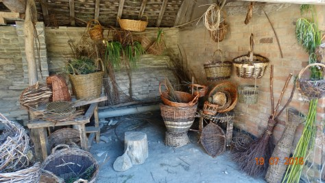 Basket making area