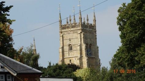 Evesham Abbey bell tower