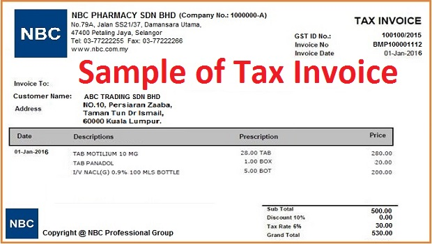 tax invoice template australia no gst – notators, Invoice templates