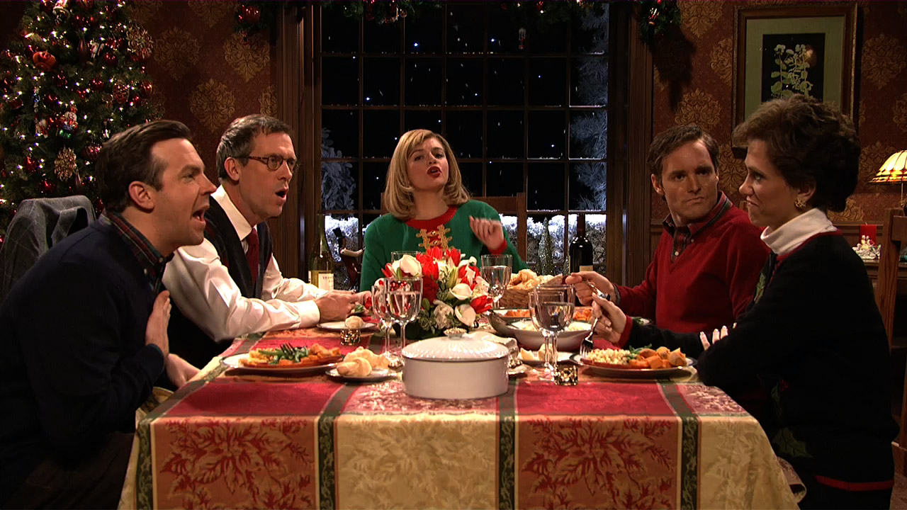 Image result for angry holiday dinners