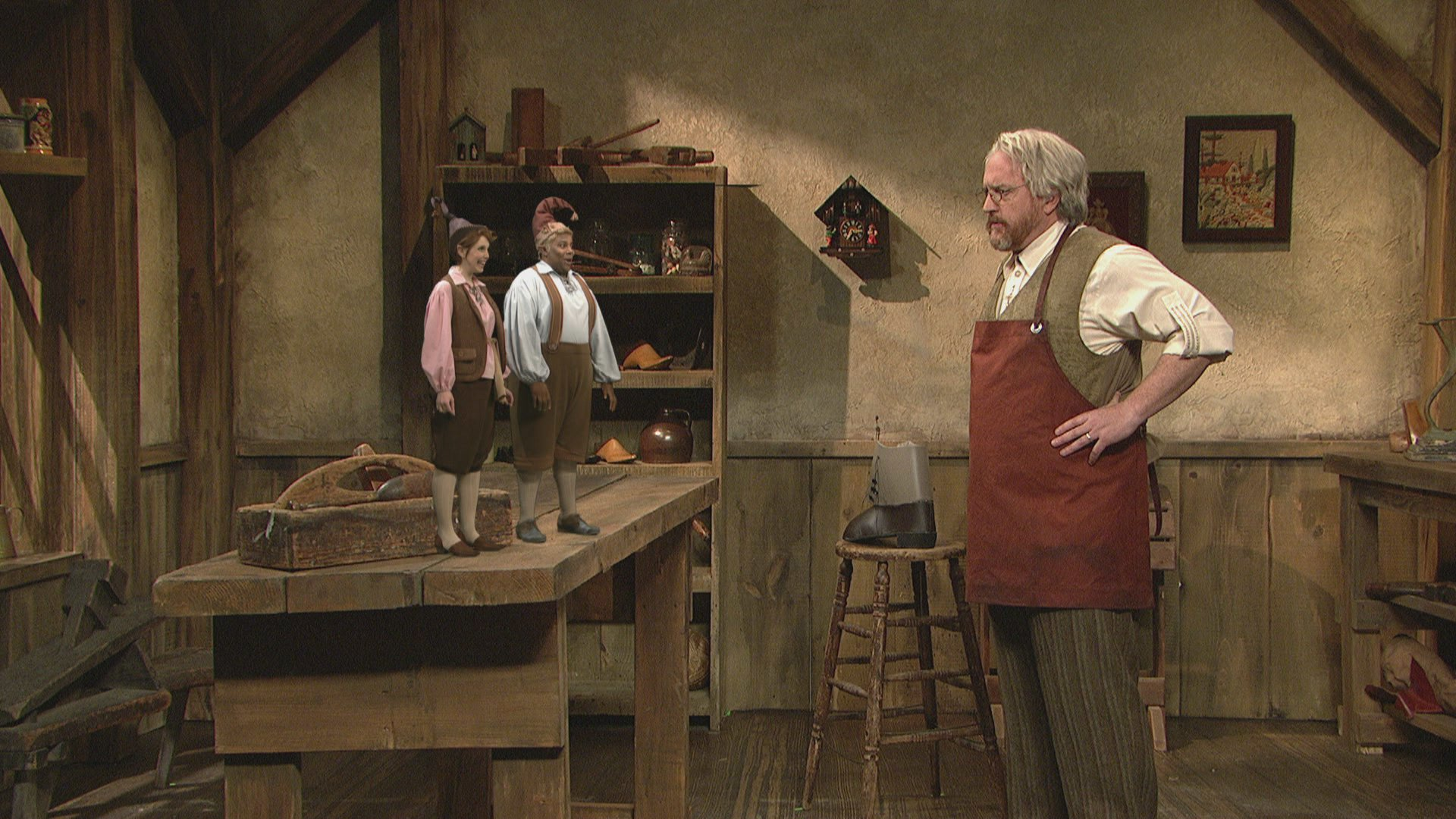 Watch The Shoemaker Amp The Elves From Saturday Night Live