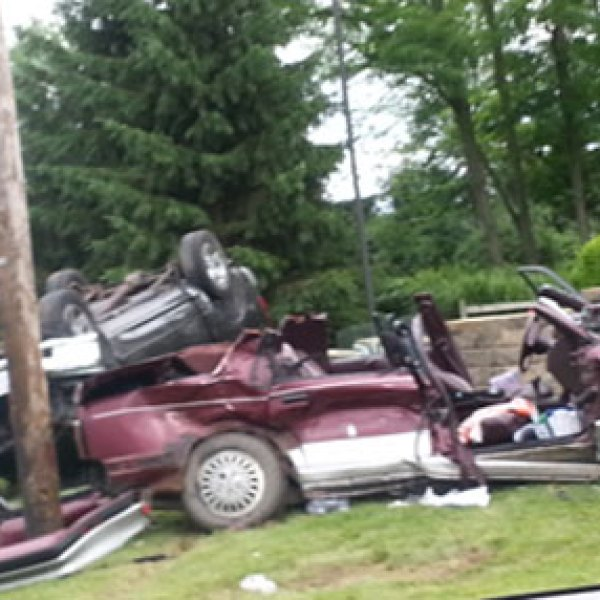 Two Juveniles Hospitalized After Marion Rollover Crash (Image 1)_9414