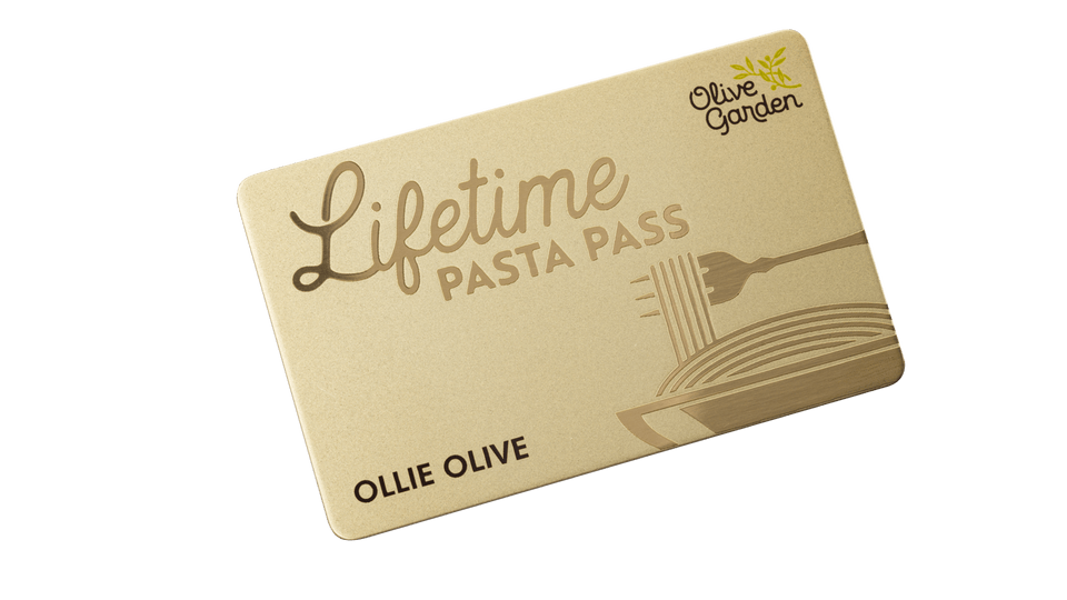 Olive Garden to sell more unlimited pasta passes on Sept  15