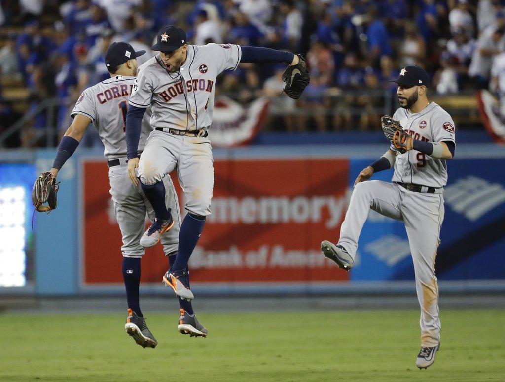 World Series Astros Dodgers Baseball_360794