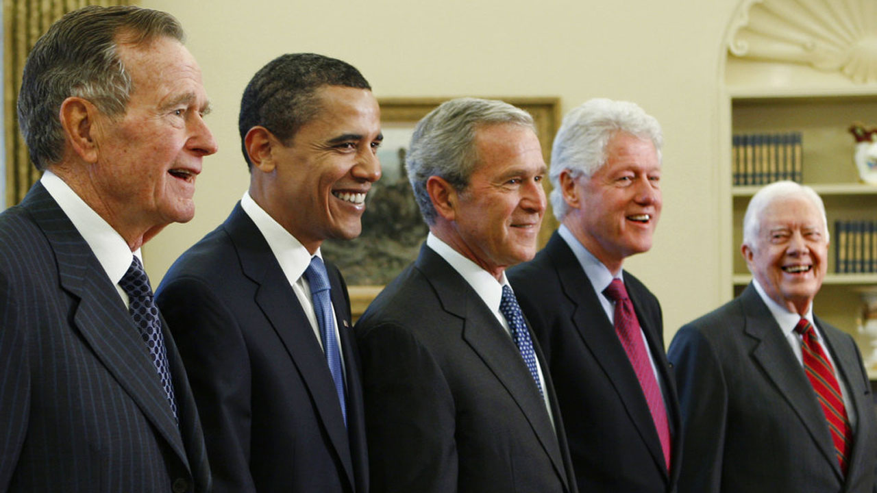 George W. Bush,Barack Obama,Bill Clinton,Jimmy Carter,George H.W. Bush_359602