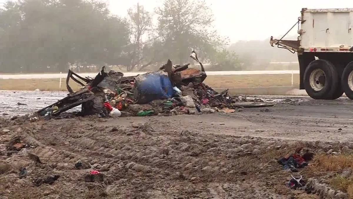 5 members of family traveling from Ga  killed in Texas crash